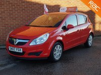 2007 VAUXHALL CORSA 1.2 CLUB 16V 5d 80 BHP £SOLD