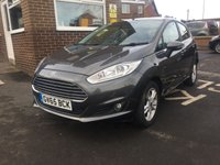 USED 2015 65 FORD FIESTA 1.0 ZETEC 5d AUTO 99 BHP AUTOMATIC WITH ONLY 8669 MILES FROM NEW! EXCEPTIONALLY CHEAP TO RUN, £30 ROAD TAX, LOW CO2 EMISSIONS (114G/KM) AND EXCELLENT FUEL ECONOMY! GOOD SPECIFICATION INCLUDING ECO BOOST,ABS, ELECTRIC AND HEATED MIRRORS, FRONT ELECTRIC WINDOWS, ELECTRIC HEATED WINDSCREEN, DAB RADIO AND ALLOY WHEELS.