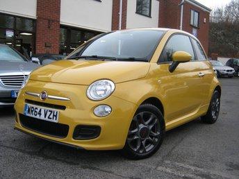 2014 FIAT 500 1.2 S 3d 69 BHP £SOLD