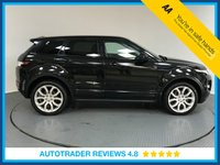 USED 2014 LAND ROVER RANGE ROVER EVOQUE 2.2 SD4 DYNAMIC LUX 5d AUTO 190 BHP SERVICE HISTORY - SAT NAV - LEATHER - PAN ROOF - REAR CAMERA - PARKING SENSORS - BLUETOOTH - DAB