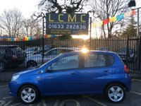 USED 2009 59 CHEVROLET AVEO 1.2 LS 5d 83 BHP STUNNING MIAMI BLUE METALLIC WITH DARK GREY CLOTH UPHOLSTERY. CHEAPEST LIKE FOR LIKE ON AUTOTRADER. AIR CONDITIONING. ELECTRIC WINDOWS. REMOTE CENTRAL LOCKING. PLEASE GOTO www.lowcostmotorcompany.co.uk TO VIEW OVER 120 CARS IN STOCK, SOME OF THE CHEAPEST ON AUTOTRADER.