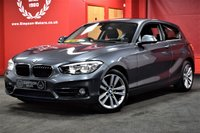 USED 2016 16 BMW 1 SERIES 2.0 118D SPORT 3d AUTO 147 BHP