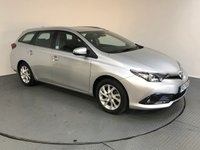 USED 2017 17 TOYOTA AURIS 1.8 VVTI BUSINESS EDITION TOURING SPORTS TSS 5d AUTO 99 BHP FULL SERVICE HISTORY - ONE OWNER - REAR CAMERA - BLUETOOTH - AIR CON - AUX / USB - DAB RADIO