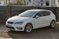 USED 2015 64 SEAT LEON 2.0 TDI FR TECHNOLOGY FSSH 6 MONTHS RAC WARRANTY FREE + 12 MONTHS ROAD SIDE RECOVERY!