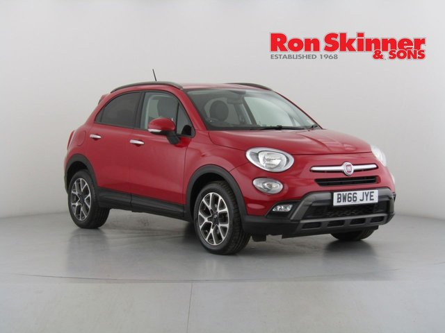 View our 2016 66 FIAT 500X 1.6 MULTIJET CROSS 5d 120 BHP