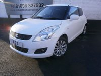 USED 2011 61 SUZUKI SWIFT 1.2 SZ4 3dr LOW INSURANCE GROUP