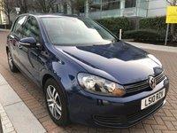 2010 VOLKSWAGEN GOLF 1.6 SE TDI BLUEMOTION DSG 5d AUTO 103 BHP £5490.00