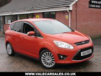 USED 2012 12 FORD C-MAX 1.6 TDCI TITANIUM (GREAT COLOUR) 5dr GREAT SPEC + ONLY £30 ROAD TAX