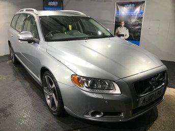 2012 VOLVO V70 2.0 D4 R-DESIGN NAV 5d AUTO 161 BHP £12450.00