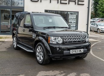 2013 LAND ROVER DISCOVERY 3.0 4 SDV6 HSE 5d AUTO 255 BHP £25890.00