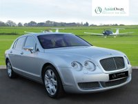 USED 2005 54 BENTLEY CONTINENTAL FLYING SPUR 6.0 FLYING SPUR 4 SEATS 4d AUTO 550 BHP