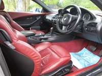 USED 2007 07 BMW 6 SERIES 3.0 630I SPORT 2d AUTO 255 BHP EXCLUSIVE PEARL LEATHER TRIM - £1120 OPTION