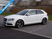 USED 2011 11 AUDI A3 2.0 TDI S LINE SPECIAL EDITION 3d 138 BHP Absolutely Beautiful Audi A3 Black Edition +Only £30 Road Tax !!