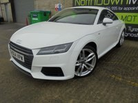 USED 2015 64 AUDI TT 2.0 TDI ULTRA S LINE 2d 182 BHP Only One Owner, FSH, Low Rate Finance Available, No Deposit Necessary, Part Exchange Welcomed