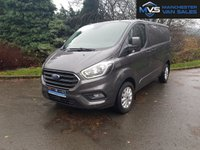 USED 2018 18 FORD TRANSIT CUSTOM 2.0 300 LIMITED 130BHP ONLY 13K MILES AIR CON CRUISE HEATED SEATS PARKING SENSORS, N,WIDE DELIVERY, WARRANTY, PARTX WELCOME