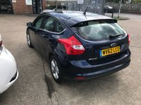 USED 2012 62 FORD FOCUS 1.6 ZETEC 5d AUTO 124 BHP