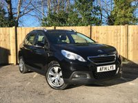 USED 2014 14 PEUGEOT 2008 1.4 HDI ACTIVE 5d 68 BHP Service History, Cruise Control, AUX and USB Input