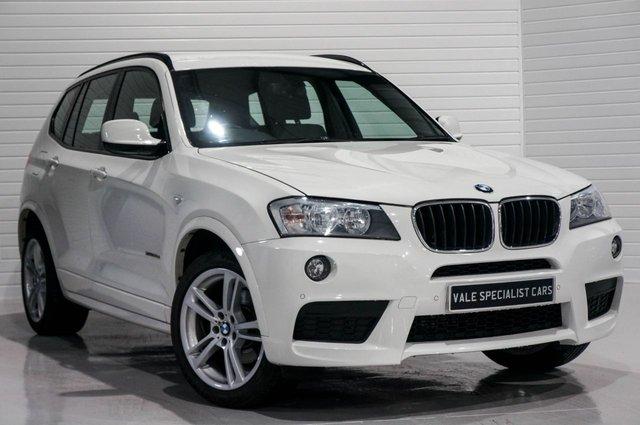 2014 63 BMW X3 2.0 XDRIVE20D M SPORT (SAT NAV)