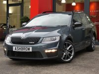 USED 2016 66 SKODA OCTAVIA ESTATE 2.0 TDI VRS 5d 185 S/S £920 OF OPTIONAL EXTRAS, SAT NAV, UPGRADE BLACK DESIGN PACK (INC MAXI DOT DRIVER'S INFO SCREEN, BLACK ROOF RAILS, HEATED INSULATION SIDE WINDOWS & BLACK GRILLE OPTIC), UPGRADE HEATED FRONT SEATS, UPGRADE SPACE SAVING SPARE WHEEL, UPGRADE TOOL KIT & JACK, DAB RADIO, CRUISE CONTROL, BLUETOOTH PHONE & MUSIC STREAMING, LIGHT & RAIN SENSORS WITH AUTO DIMMING REAR VIEW MIRROR, REAR PARKING SENSORS (PARK PILOT), AUX & USB INPUTS, 18 INCH 10 SPOKE ALLOYS, FRONT FOGS, XENONS, 1 OWNER, £30 RFL