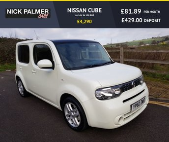 View our NISSAN CUBE