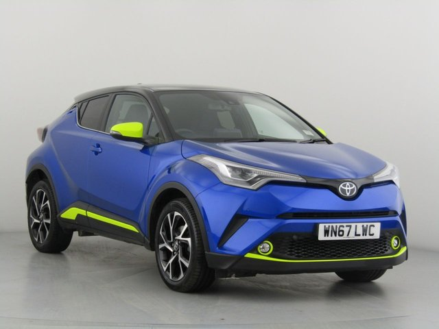 View our 2017 67 TOYOTA CHR 1.2 DYNAMIC 5d 114 BHP