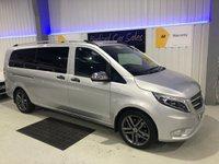 USED 2018 18 MERCEDES-BENZ VITO 2.1 119 BLUETEC TOURER SELECT (EXTRA LONG) 5d AUTO 190 BHP