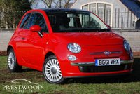 USED 2011 61 FIAT 500 1.2 LOUNGE [START/STOP] 70 BHP