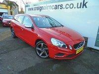 2011 VOLVO V60 2.0 D3 R-DESIGN 5d 161 BHP £8995.00