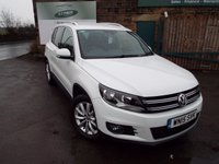 USED 2015 15 VOLKSWAGEN TIGUAN 2.0 MATCH TDI BLUEMOTION TECHNOLOGY 5d 139 BHP One Owner Full Volkswagen Service History