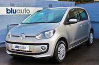 2013 VOLKSWAGEN UP 1.0 MOVE UP 5d AUTO 59 BHP £7360.00