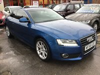 USED 2008 M AUDI A5 1.8 TFSI 2d 170 BHP A5 stunning, alloys, air/con. 6000 miles on new engine. Superb.