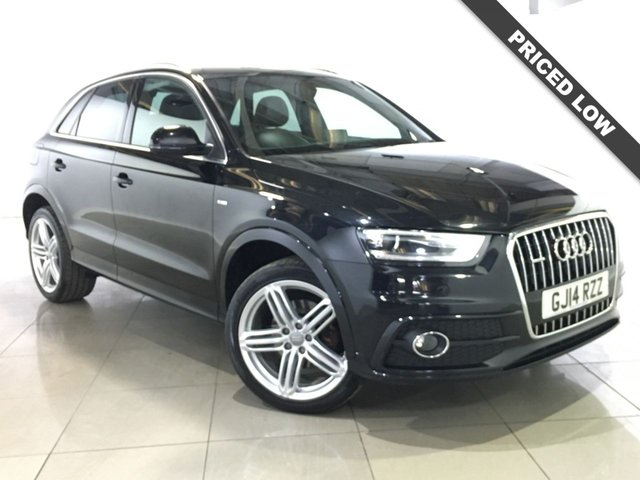 View our 2014 14 AUDI Q3 2.0 TDI QUATTRO S LINE PLUS NAV 5d 177 BHP