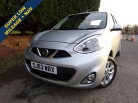USED 2013 63 NISSAN MICRA 1.2 ACENTA 5d AUTO 79 BHP