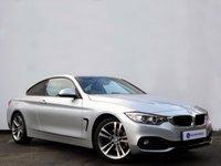 USED 2014 14 BMW 4 SERIES 2.0 420D SPORT 2d AUTO 181 BHP Black Dakota Heated Front Sport Seats with Full BMW Service History