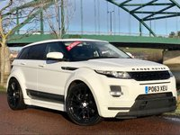 USED 2013 LAND ROVER RANGE ROVER EVOQUE 2.2 SD4 PURE TECH 5d 190 BHP **STUNNING CAR AMAZING SPEC, ONE OF ONLY 5 EVER FITTED WITH THIS GORGEOUS LUMMA KIT**