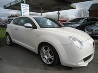 USED 2010 10 ALFA ROMEO MITO 1.6 VELOCE JTDM 3d 120 BHP ONE FORMER KEEPER