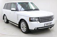 "USED 2012 12 LAND ROVER RANGE ROVER 4.4 TDV8 WESTMINSTER 5d AUTO 313 BHP Finished in stunning Fuji White with Black Full Leather, 20"" Alloy Wheels and Full Land Rover Service History. Sat Nav, Rear Camera, Bluetooth, DAB Radio, Harmon/Kardon Sound System, Electric/Memory/Heated Seats, Cruise, Electric Sunroof, Multi Function Wheel"