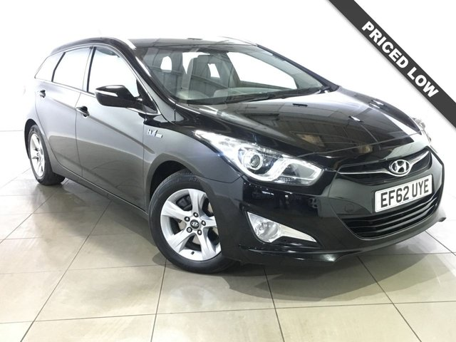 View our 2012 62 HYUNDAI I40 1.7 CRDI ACTIVE BLUE DRIVE 5d 114 BHP