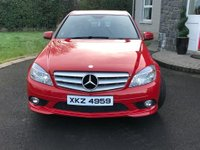 USED 2009 MERCEDES-BENZ C CLASS 2.1 C220 CDI BLUEEFFICIENCY SPORT 4d AUTO 170 BHP