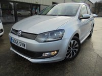 USED 2017 66 VOLKSWAGEN POLO 1.0 BLUEMOTION TSI 5d 93 BHP Only One Owner, FSH, Low Rate Finance Available, No Deposit Necessary