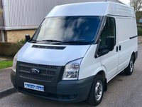 2013 FORD TRANSIT 2.2 FWD 260 SWB MEDIUM ROOF 100 BHP 6 SPEED £5995.00