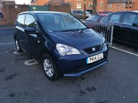 USED 2014 14 SEAT MII 1.0 TOCA 5d 59 BHP ONLY 7343 MILES FROM NEW! EXCEPTIONALLY CHEAP TO RUN. LOW CO2 EMISSIONS(105G/KM) WHICH IS ONLY £20 ROAD TAX. EXCELLENT SPEC INCLUDING AIR CONDITIONING, SAT NAV AND ALLOY WHEELS.