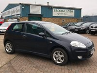 2006 FIAT GRANDE PUNTO 1.4 ACTIVE SPORT 3d 77 BHP One Owner From New  £1695.00