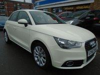 2012 AUDI A1 1.6 SPORTBACK TDI SPORT 5d 103 BHP £8249.00