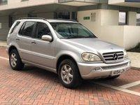 2004 MERCEDES-BENZ M CLASS 5.0 ML500 5d AUTO 292 BHP £4990.00