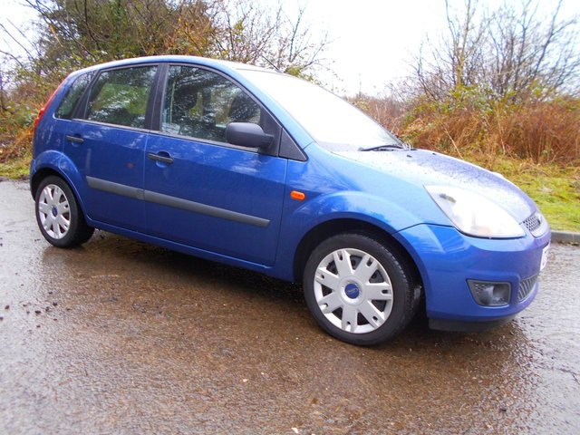 2007 07 FORD FIESTA 1.2 STYLE 16V 5d 78 BHP **LOW MILEAGE**GREAT ECONOMY**LOW TAX**