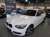 2013 BMW 1 SERIES 2.0 116D SPORT 5d 114 BHP £8190.00