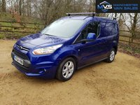2014 FORD TRANSIT CONNECT 1.6 200 LIMITED 5d 115 BHP DEEP IMPACT BLUE FSH 3 SEATS £9750.00
