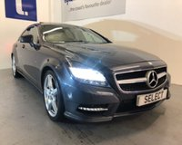 2012 MERCEDES-BENZ CLS CLASS 3.0 CLS350 CDI BLUEEFFICIENCY AMG SPORT 4d AUTO 265 BHP £14999.00