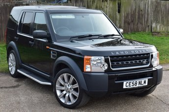 2008 LAND ROVER DISCOVERY 2.7 3 TDV6 GS 5d AUTO 188 BHP £8000.00